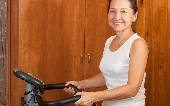 Kupiłam podstawowy sprzęt do ćwiczeń i rozpoczęłam aktywność w domu